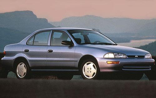 1996 geo prizm sedan base fq oem 1 500