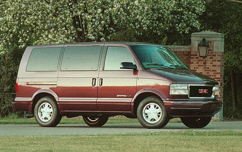 1996 gmc safari passenger minivan slt fq oem 1 500