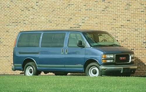 1996 gmc savana passenger van g1500 fq oem 1 500