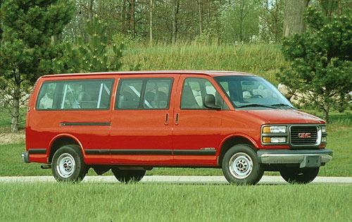 1996 gmc savana passenger van g2500 fq oem 1 500