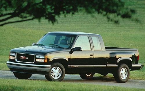 1996 gmc sierra 3500 crew cab pickup slt fq oem 1 500