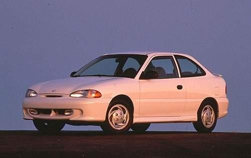 1996 hyundai accent 2dr hatchback gt fq oem 1 500