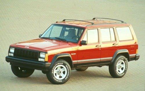 1996 jeep cherokee 4dr suv sport fq oem 1 500
