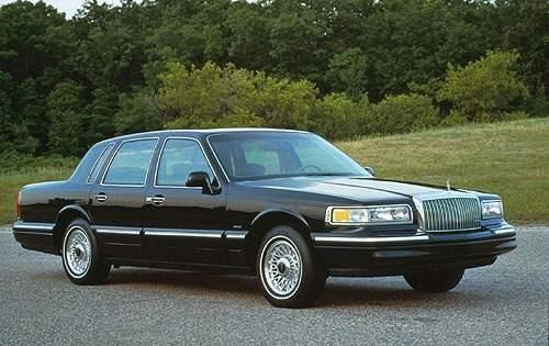 1996 lincoln town car sedan executive fq oem 1 500