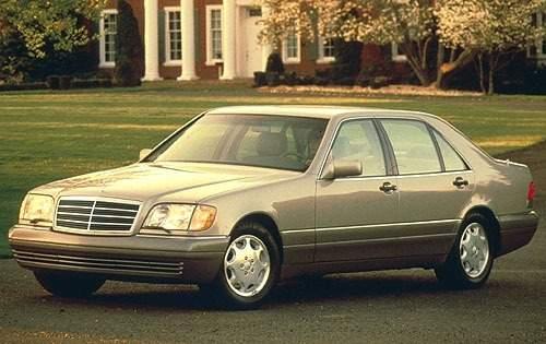 1996 mercedes benz s class sedan s420 fq oem 1 500