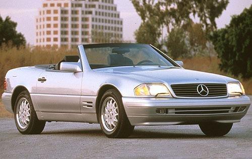 1996 mercedes benz sl class convertible sl320 fq oem 1 500