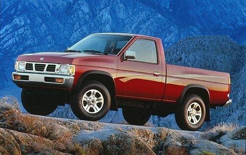1996 nissan truck regular cab pickup xe fq oem 1 500