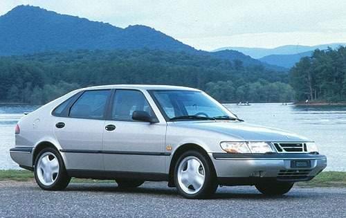1996 saab 900 4dr hatchback se fq oem 1 500