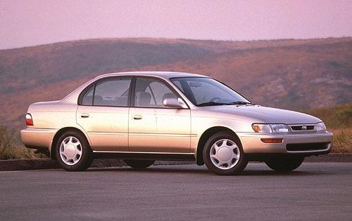 1996 toyota corolla sedan dx fq oem 1 500