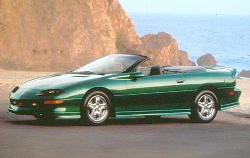 1997 chevrolet camaro convertible rs fq oem 1 500