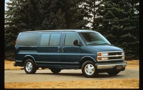 1997 chevrolet express passenger van g1500 ls fq oem 1 500