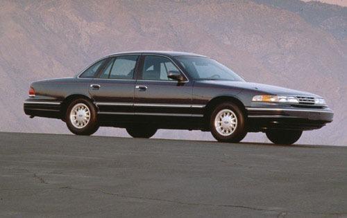 1997 ford crown victoria sedan lx fq oem 1 500