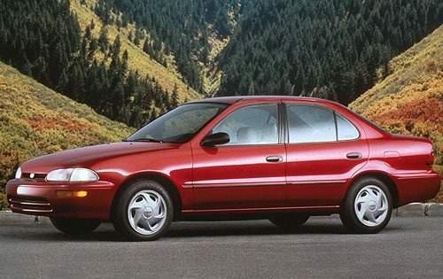 1997 geo prizm sedan lsi fq oem 1 500