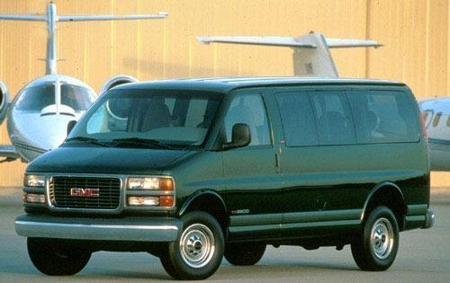 1997 gmc savana passenger van g3500 sle fq oem 1 500