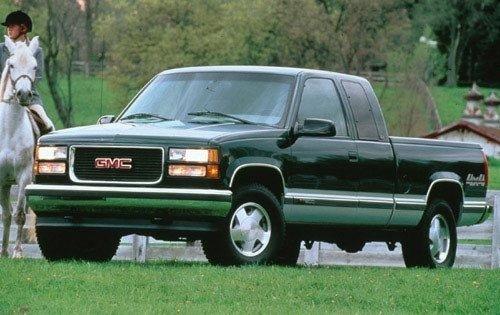 1997 gmc sierra 1500 extended cab pickup slt fq oem 2 500