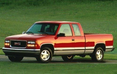 1997 gmc sierra 1500 extended cab pickup slt fq oem 3 500