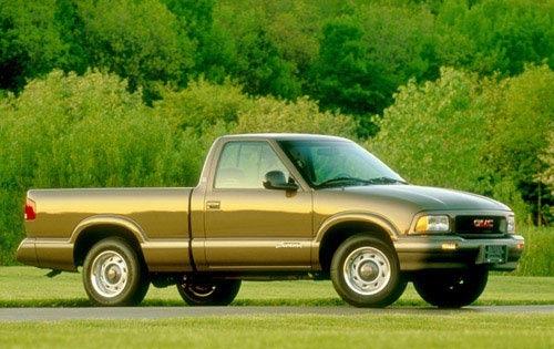 1997 gmc sonoma regular cab pickup sl fq oem 1 500