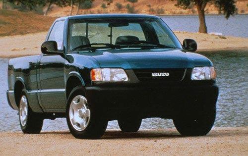 1997 isuzu hombre regular cab pickup xs fq oem 1 500