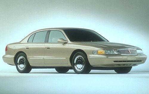 1997 lincoln continental sedan base fq oem 1 500