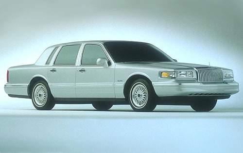 1997 lincoln town car sedan signature fq oem 1 500