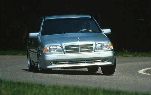 1997 mercedes benz c36 amg sedan base fq oem 1 500