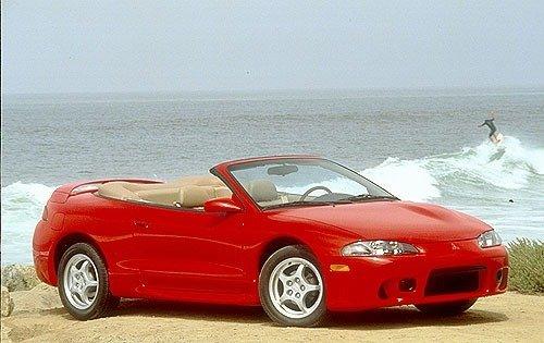 1997 mitsubishi eclipse spyder convertible gs t fq oem 1 500