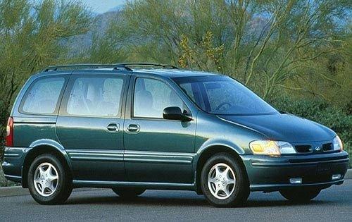 1997 oldsmobile silhouette passenger minivan gls fq oem 1 500