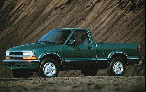 1998 chevrolet s 10 regular cab pickup ls fq oem 1 500