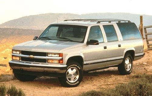 1998 chevrolet suburban 4dr suv 1500 fq oem 1 500
