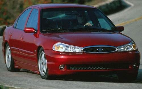 1998 ford contour svt sedan base fq oem 1 500