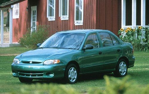 1998 hyundai accent sedan gl fq oem 1 500