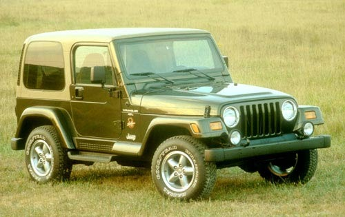 1998 jeep wrangler convertible suv sahara fq oem 1 500