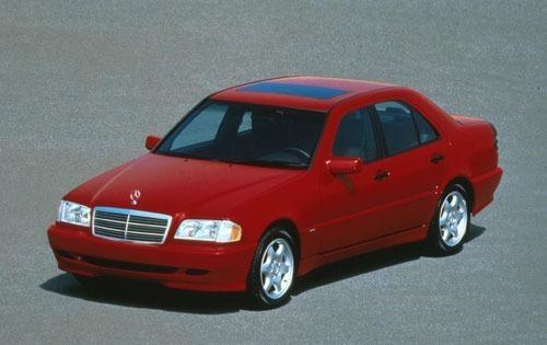 1998 mercedes benz c class sedan c280 fq oem 1 500