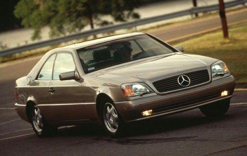 1998 mercedes benz cl class coupe cl500 fq oem 1 500