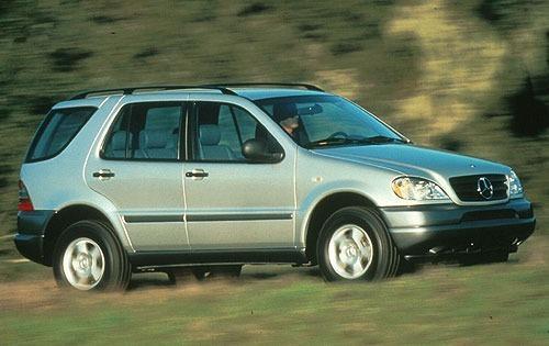 1998 mercedes benz m class 4dr suv ml320 fq oem 1 500