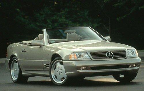 1998 mercedes benz sl class convertible sl500 sl1 sport fq oem 1 500
