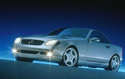 1998 mercedes benz slk class convertible slk230 kompressor fq oem 1 500