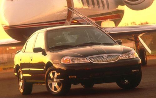 1998 mercury mystique sedan ls fq oem 1 500