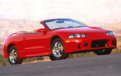1998 mitsubishi eclipse spyder convertible gs t fq oem 1 500