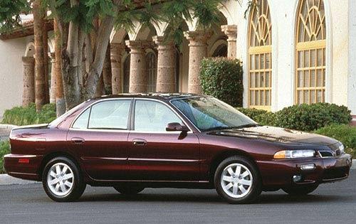 1998 mitsubishi galant sedan es fq oem 1 500