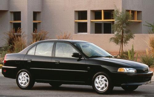 1998 mitsubishi mirage sedan ls fq oem 1 500
