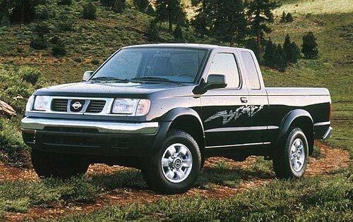 1998 nissan frontier extended cab pickup se fq oem 2 500