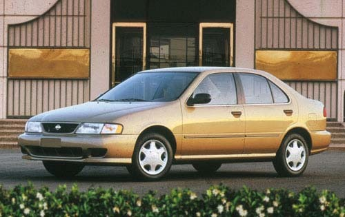 1998 nissan sentra sedan gxe fq oem 1 500