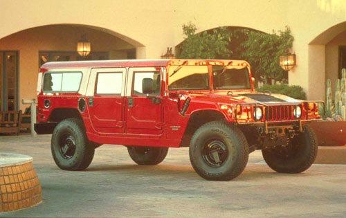1999 amgeneral hummer 4dr suv wagon fq oem 1 500