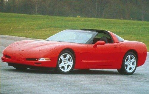 1999 chevrolet corvette coupe base fq oem 1 500