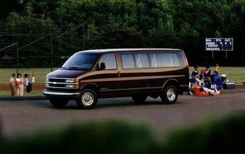 1999 chevrolet express passenger van g2500 ls fq oem 1 500