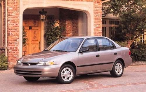 1999 chevrolet prizm sedan lsi fq oem 1 500