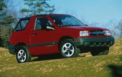 1999 chevrolet tracker convertible suv base wsoft top fq oem 1 500