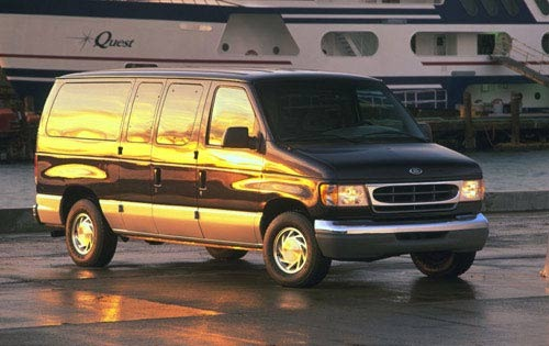 1999 ford econoline wagon passenger van e 150 xlt fq oem 1 500