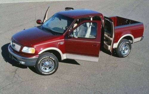 1999 ford f 150 extended cab pickup lariat fq oem 1 500